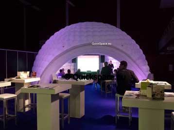 Dómy QuickSpace pro Almere Zaken Festival