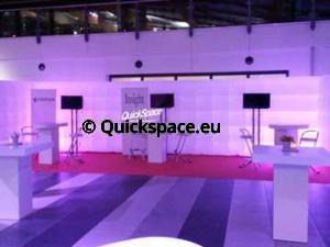 QuickSpace 10m nafukovací stěna